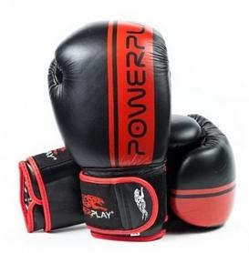 Перчатки боксерские PowerPlay 3022, красные
