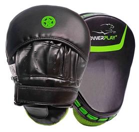 Лапы боксерские PowerPlay 3041, зеленые