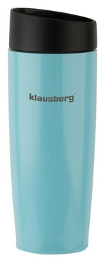 Термокружка PowerPlay Klausberg KB-7148, голубая (pp1512)
