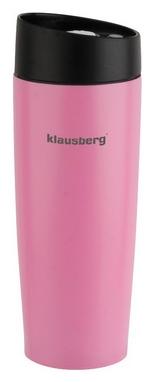 Термокружка PowerPlay Klausberg KB-7148, розовая (pp1515)