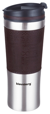 Термокружка PowerPlay Klausberg 7150, коричневая (pp1522)