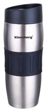 Термокружка PowerPlay КН-7100, черная (pp1480)