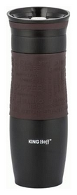 Термокружка PowerPlay KH-7102, коричневая (pp1505)