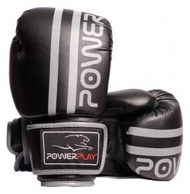 Перчатки боксерские PowerPlay 3010, серые (3010-GR)