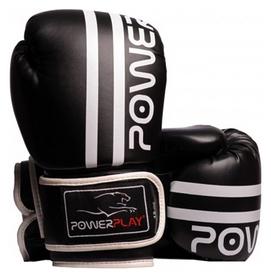 Перчатки боксерские PowerPlay 3010, белые (3010-WH)