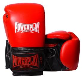 Перчатки боксерские PowerPlay 3015, красные (3015-RD)