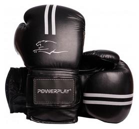Перчатки боксерские PowerPlay 3016, белые (3016-WH)