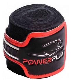 Бинт боксерский PowerPlay 3046 - черный, 4 м