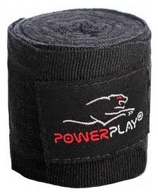 Бинт боксерский PowerPlay 3046 - черный, 3 м