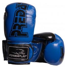 Перчатки боксерские PowerPlay 3017, синие (3017-BL)
