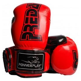 Перчатки боксерские PowerPlay 3017, красные (3017-RD)