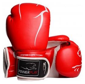 Перчатки боксерские PowerPlay 3018, красные (3018-BLRD)