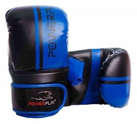 Перчатки снарядные PowerPlay 3025, черно-синие