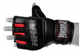 Перчатки для MMA PowerPlay Fight, черно-красные (3053)