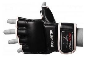 Перчатки для MMA PowerPlay Preoator, черные (3056)