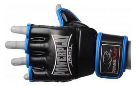 Перчатки для MMA PowerPlay Fight, синие (3058)