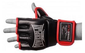 Перчатки для MMA PowerPlay Fight, красные (3058)