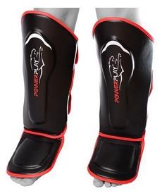 Защита для ног (голень + стопа) PowerPlay 3052, красная