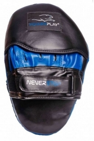 Лапы боксерские PowerPlay NeverStop, синие (3051)