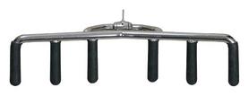 Ручка для тяги Интер Атлетика, серебряная (M13-19)