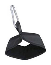 Петля подвесная для турника Fitex M13-15, черная