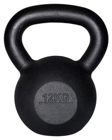 Гиря железная Fitex MD2118-12 - черная, 12 кг