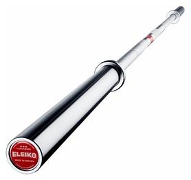 Гриф штанги прямой для пауэрлифтинга Eleiko PL Competition Bar - серебряный, 20 кг (3000240)