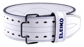 eleiko Пояс для пауэрлифтинга Eleiko IPF Powerlifting Belt, белый (300213)