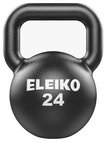 Гиря чугунная Eleiko Kettlebell - черная, 24 кг (380-0240)