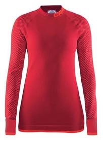 Термофутболка женская с длинным рукавом Craft Warm Intensity CN LS Woman AW 17, красная (1905347-452801)