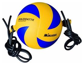 Мяч волейбольный (оригинал) тренировочный Mikasa, №5 (MVA300ATTR)