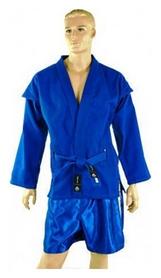 Кимоно для самбо Matsa, синее (MA-3211-BL)