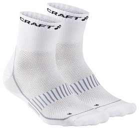 Носки Craft Cool Training 2-Pack Sock SS 16, белые (1903427-2900)