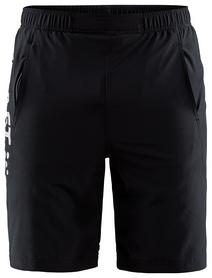 Шорты Craft Deft Stretch Shorts Man SS 18, черно-серые (1905969-999926)