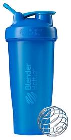 Шейкер с шариком BlenderBottle Classic Loop - голубой, 820 мл (Loop 28 Cyan)