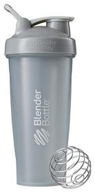 Шейкер с шариком BlenderBottle Classic Loop - серый, 820 мл (Loop 28 Grey)