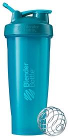 Шейкер с шариком BlenderBottle Classic Loop - бирюзовый, 820 мл (Loop 28 Teal)