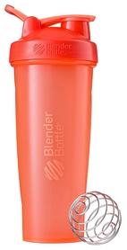 Шейкер с шариком BlenderBottle Classic Loop - коралловый, 940 мл (Loop 32oz Coral)