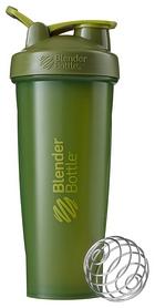 Шейкер с шариком BlenderBottle Classic Loop - оливковый, 940 мл (Loop 32oz Moss)