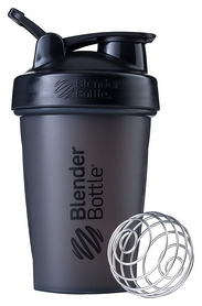 Шейкер с шариком BlenderBottle Classic Loop - черный, 590 мл (Loop 20 Black)
