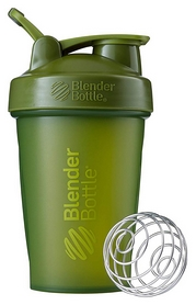 Шейкер с шариком BlenderBottle Classic Loop - оливковый, 590 мл (Loop 20 Moss)