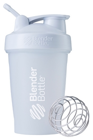 Шейкер с шариком BlenderBottle Classic Loop - белый, 590 мл (Loop 20 White)