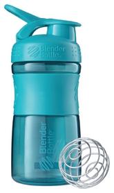 Шейкер с шариком BlenderBottle SportMixer - голубой, 590 мл (SM 20oz Teal)