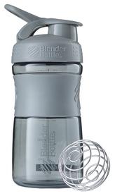 Шейкер с шариком BlenderBottle SportMixer - серый, 590 мл (SM 20oz Grey)