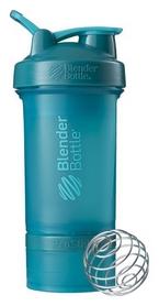 Шейкер с шариком BlenderBottle ProStak - голубой, 650 мл (PS 22oz Teal)
