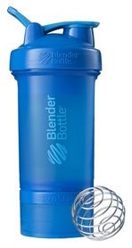 Шейкер с шариком BlenderBottle ProStak - синий, 650 мл (PS 22oz Cyan)