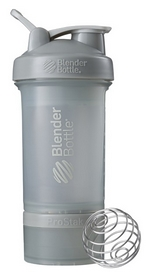 Шейкер с шариком BlenderBottle ProStak - серый, 650 мл (PS 22oz Grey)