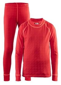 Термобелье детское Craft Nordic Wool Set J AW 17, красное (1905356-452801)
