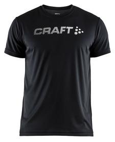 Футболка мужская Craft Prime Logo Tee Man SS 18, черная (1904341-1999)