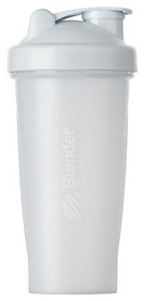 Шейкер с шариком BlenderBottle Classic - белый, 820 мл (Classic 28oz White)